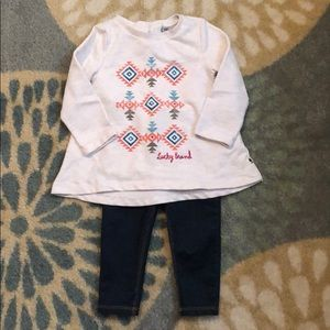 🍀Lucky Brand Outfit sz. 12M🍀